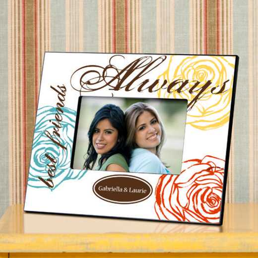 GC858 Alwayswhit: Personalized Forever Friends Friendship Frame